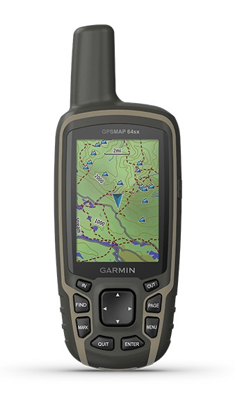 GPSMap64sx front