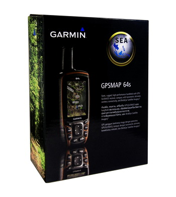 gps map64s box